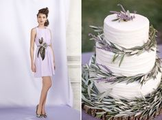 Lavender and Sage cake...how urban native?