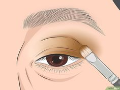How to Apply Eye Makeup (for Women Over Once you reach the age of your skincare needs change. Mature skin tends to be dry, and fine lines and wrinkles may make it seem difficult to apply flawless makeup, especially around the. Dark Eyeshadow, How To Apply Eyeshadow, How To Apply Makeup, Eyeshadow Makeup, Eyeliner, Makeup For 50 Year Old, Makeup Tips For Older Women, Makeup Over 50, Eyebrow Makeup Tips