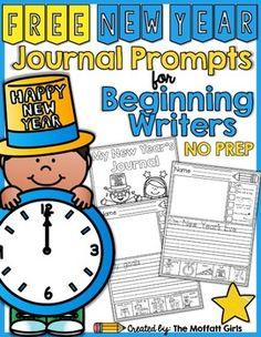 new years writing activity 1st grade