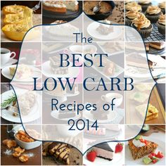 The Best Low Carb Keto Recipes of 2014 on All Day I Dream About Food #lowcarb #grainfree #keto
