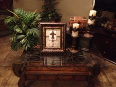 Coffee table tuscan ideas and accents