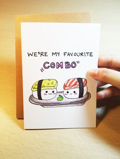Funny Valentine card for best friend valentines by LoveNCreativity