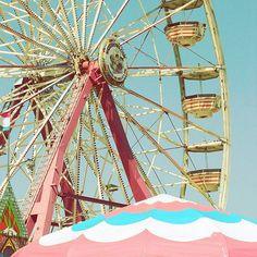 Spin Wheel  Fine-Art Ferris Wheel Carnival Print  8x8 by stoopidgerl on Etsy, $25.00