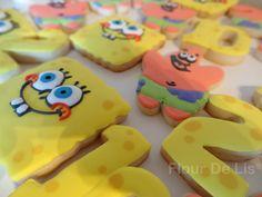 Spongebob Birthday Cookies | FLOUR DE LIS