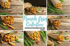 French fries collection