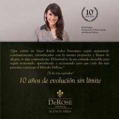 La directora de la Sede Cerviño nos deja su visión del DeRose Festival.