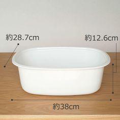 【楽天市場】【割引クーポン配布中】野田琺瑯(ノダホーロー) 楕円型洗い桶 WA-O キッチンツール【05P06Aug16】:FavoriteStyle~キッチン・雑貨~