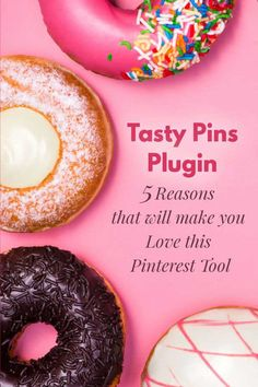 Tasty Pins Plugin - 5 Reasons that will make you love this Pinterest Tool! #PinterestMarketing #PinterestTools #WordpressPlugin #PinterestStrategy #TastyPins
