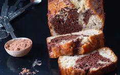 Hello everyone, we all have overripe bananas now and then. What are you doing with it? Try out this banana and marble cake!