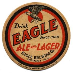 Drink Eagle Ale And Lager