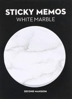 Klebezettel & Haftnotizen - Marble Sticky Notes - ein Designerstück von SaltAndSugar bei DaWanda