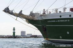 "Tall Ship ""Alexander von Humboldt II"" @ Hanse Sail Rostock."