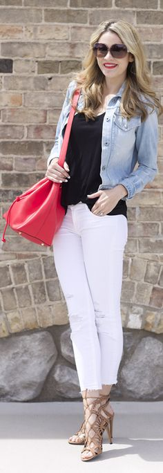 Spring Accessories Outfit Idea by Ivory Lane