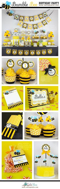 Bumble Bee Goody Bags Favor Party Gift