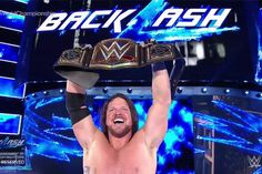 WWE Backlash: A.J. Styles Wins World Title In Epic Fashion — See Who…