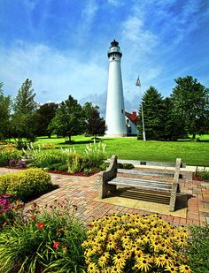✯ Wind Point Lighthouse - Wisconsin