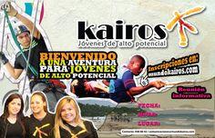 Afiche informativo para la Corporación Kairos