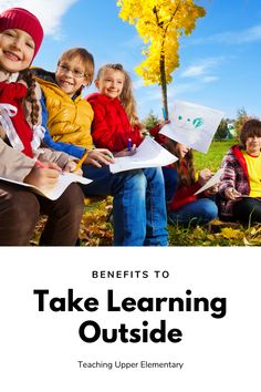 We all know that it's good to be outside and that spending more time outdoors can positively impact our lives. After all, as kids, we have memories of our kids begging us to play outdoors for a reason. However, the benefits of spending more time outside might not seem obvious. There are real academic benefits to taking your learning outside, as well as drawbacks. Here are just a few of those benefits to taking learning outside.