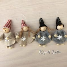 10 Waldorf Winter Crafts for Kids Handmade Christmas Decorations, Burlap Christmas, Christmas Gnome, Christmas Makes, Christmas Angels, Xmas Decorations, Christmas Art, Kids Crafts, Felt Crafts