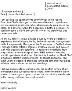 sample executive chef cover letter httpwwwresumecareerinfo