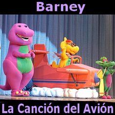 Barney el Dinosaurio - La Cancion del Avion acordes