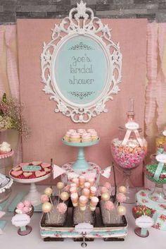 Vintage Shabby Chic Bridal/Wedding Shower Party Ideas | Photo 1 of 54 | Catch My Party