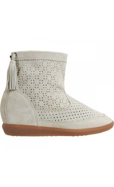 f26b2f0237f48 Isabel Marant Beslay Hidden Wedge Boot White - Isabel Marant Isabel Marant  Sale