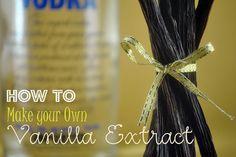 bake 101, diy vanilla, vanilla extract, favorit recip, cake recip