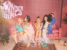 "Wonder Girls ""Why So Lonely"" Teaser Image #3 - OMONA THEY DIDN'T! Endless charms, endless possibilities ♥"