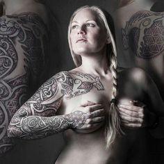 #viking #tattoo #shieldmaiden #valkyrie