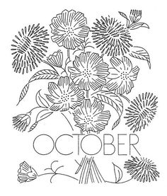 Free October pattern by Q is for Quilter, featured on Feeling Stitchy
