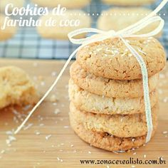 COOKIES DE FARINHA DE COCO