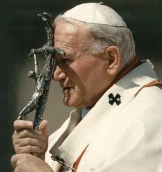"""[image] Blessed John Paul II, Pray for us! """"Have humble and courageous awareness of what the Father has given you. Let this awareness be your strength, your light, your hope. Catholic Religion, Catholic Saints, Rosary Catholic, Pape Jeans, Papa Juan Pablo Ii, Catholic Answers, Pope John Paul Ii, Paul 2, Lady Of Fatima"""