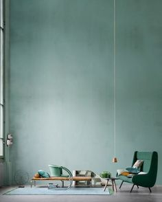 Home interior design - inside / outside . yes Home Interior Design – I like how the Compo Interior Architecture, Interior And Exterior, Interior Styling, Interior Decorating, Decorating Tips, Sweet Home, Green Rooms, Green Walls, Home And Deco