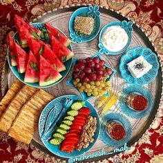Who's up for a yummy Persian breakfast? Reposting this beautiful صبح ھمگی بہ خیر