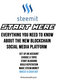 How to get started on Steemit | A curation of the best resources on how Steemit works | A blockchain cryptocurrency based social media platform where you make $ instead of likes