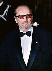 "John Joseph ""Jack"" Nicholson (born April 22, 1937) is an American actor, film director, producer, and writer. He is renowned for his often dark portrayals of neurotic characters. His twelve Oscar nominations make him the second most nominated actor of all time, behind only Meryl Streep, and tied with Katharine Hepburn."