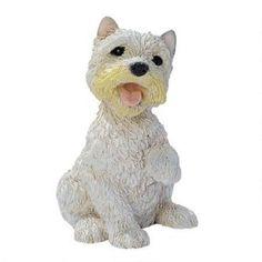 West Highland Terrier Puppy Dog Statue Was: $39.95           Now: $29.95