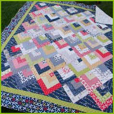 reunion by moda quilt - Google Search - GALE, use stabilized hankies for this!