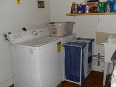 laundry room.  (appliances not included)