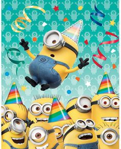 Despicable Me Minions  Pin the Hat Party Game by ElsaPartySupply on Etsy