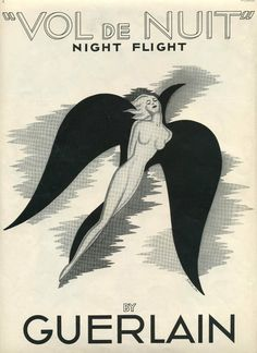 Guerlain advertisement ... for Miranda's perfume of choice. How she came to wear it is told in CITY OF GHOSTS ...