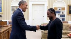 kendrick lamar and president obama