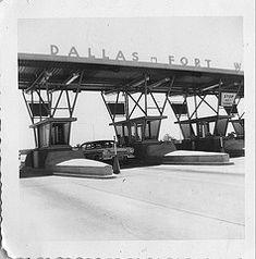 Dallas-Fort Worth Tollroad, 1960's.