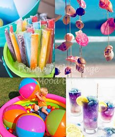 Cool Pops, Orange Paper, Beach Ball, You Are Invited, Ink Pads, Swirls, Badge, Create Your Own, Balloons
