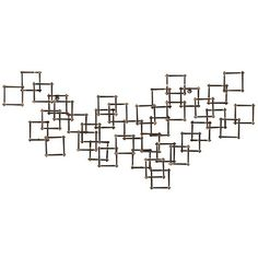 Crate & Barrel Squares Nail Metal Wall Art ($100) ❤ liked on Polyvore featuring home, home decor, wall art, backgrounds, fillers, art, effects, doodle, scribble and metal wall art