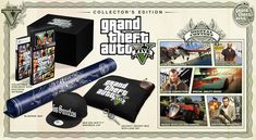 Announcing the Grand Theft Auto V Special Edition and Collector's Edition – Available for Pre-Order Starting Today   Rockstar Games