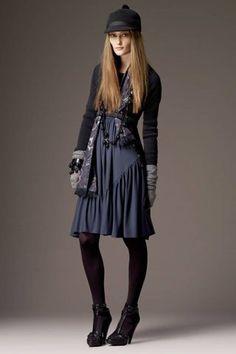 Burberry Pre-Fall 2008 Fashion Show - Iekeliene Stange