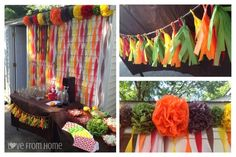 Love From Home: Housewarming Party with a trail mix bar and soda stream station / bar