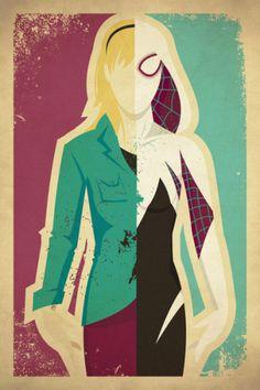 by Danny Haas, Spider Gwen, Gwen Stacy, Spiderman